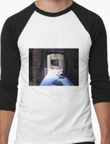 Dark Passages,Light Spaces  Men's Baseball ¾ T-Shirt