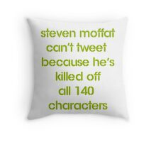 MOFFAT Throw Pillow