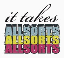 It takes allsorts by Cory Williams