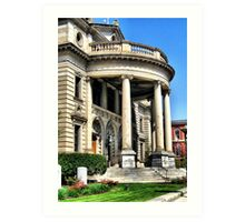 CourtHouse Art Print