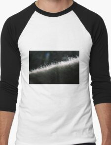 Poddle Dog Fur Backlit Men's Baseball ¾ T-Shirt