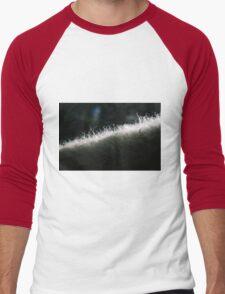 Poddle Dog Fur Backlit Men's Baseball ¾ T-Shirt