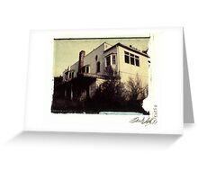 Evergreen Social Club - Rear View Greeting Card