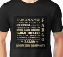 Fargo North Dakota Famous Landmarks Unisex T-Shirt