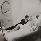Nicole & Clinton in bed (!!!!!) by Chris Cohen