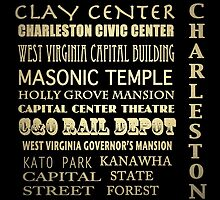 Charleston West Virginia Famous Landmarks by Patricia Lintner