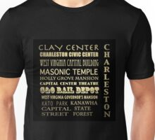 Charleston West Virginia Famous Landmarks Unisex T-Shirt