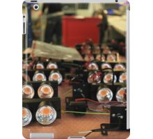assembly of LED lights in manufacturing iPad Case/Skin