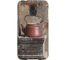 old teapot in an abandoned house Samsung Galaxy Case/Skin