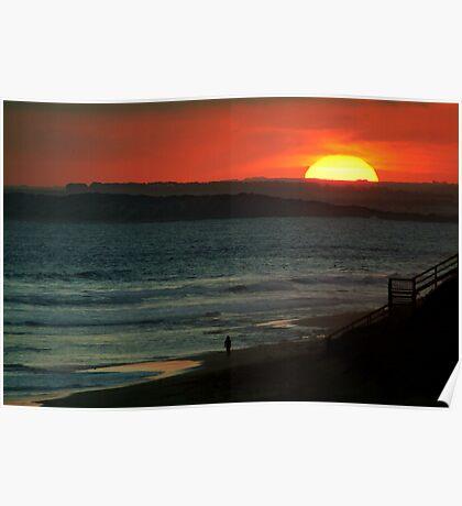 Last Surf,13Th Beach,Bellarine Peninsula Poster