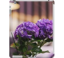 living flowers in the interior  iPad Case/Skin