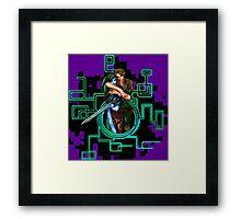 Twilight Princess: Link and Midna Framed Print