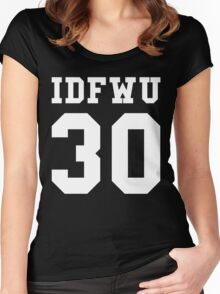 Big Sean - IDFWU Number 30 Women's Fitted Scoop T-Shirt