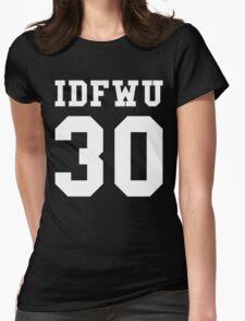 Big Sean - IDFWU Number 30 Womens Fitted T-Shirt