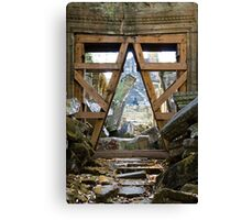 Entry to the Past - Cambodia Canvas Print