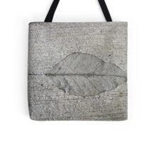 Sidewalk Art by Leaf Tote Bag