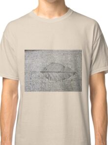 Sidewalk Art by Leaf Classic T-Shirt
