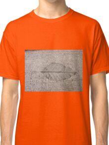 Sidewalk Art by Leaf Classic T-Shirt
