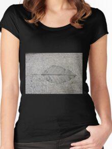 Sidewalk Art by Leaf Women's Fitted Scoop T-Shirt