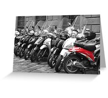 FLORENCE TRANSPORT (CARD ONLY) Greeting Card