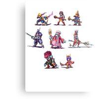 Final Fantasy 9 Characters Metal Print