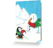 Warm Companions Greeting Card