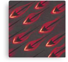 Flame Arrows Canvas Print