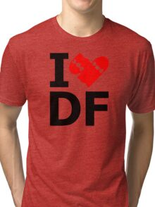 I Skate/Love/Smash DF [Mexico City] Tri-blend T-Shirt