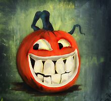 Cheeky Jack O Lantern by dimarie