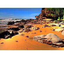 True Colours - Warriewood Beach - Sydney Beaches - The HDR Series - Sydney Australia Photographic Print