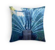 The Archibald Fountain Hyde Park Throw Pillow