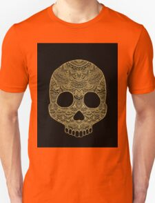 Gold Skull Unisex T-Shirt