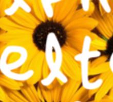 Alpha Delta Pi-Sunflowers Sticker