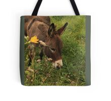 Hot Wheezing Donkey Tote Bag