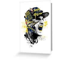 Jim Harbaugh Michigan  Greeting Card
