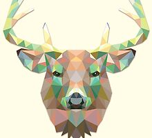 Abstract Big Buck by martinestella