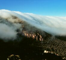 waterfall of clouds - The Grampians by Tony Middleton