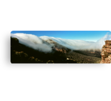 waterfall of clouds - The Grampians Canvas Print