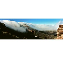 waterfall of clouds - The Grampians Photographic Print