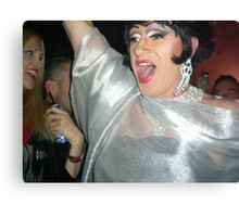 Drag Queen Upclose Canvas Print