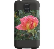 Wet and Wild Rose Samsung Galaxy Case/Skin