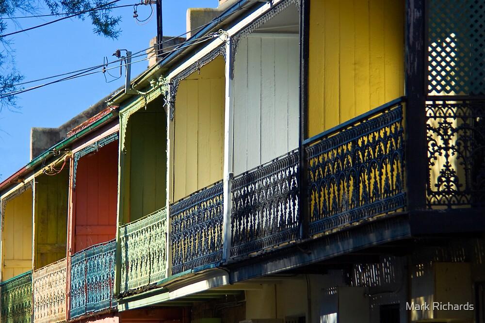 Row Houses by Mark Richards