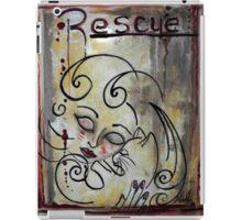 Cat Rescue Adoption Advocacy Folk Art Loralai iPad Case/Skin