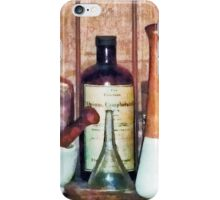 Mortar and Pestle and Pestle iPhone Case/Skin