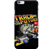 Track to the future iPhone Case/Skin