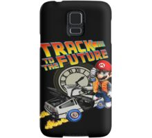 Track to the future Samsung Galaxy Case/Skin