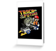 Track to the future Greeting Card