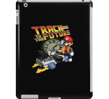 Track to the future iPad Case/Skin