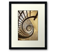 Spiral of decay Framed Print