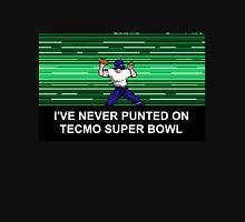 NES Nintendo Tecmo Super Bowl Never Punted Unisex T-Shirt